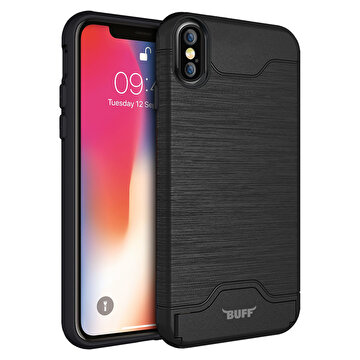 Picture of Buff  iPhone X Slim Folder Kılıf Black