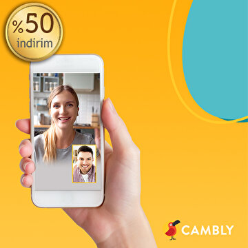 Picture of  Cambly TR %50 İndirim Kuponu