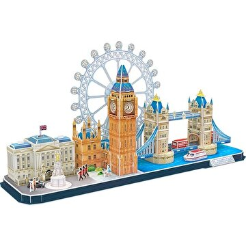 Picture of  Cubic Fun 107 Parça Puzzle City Line London