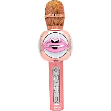 Picture of  Doppler Lips200 Bluetoothlu ve Hoparlörlü Karaoke Çocuk Mikrofonu - Pembe