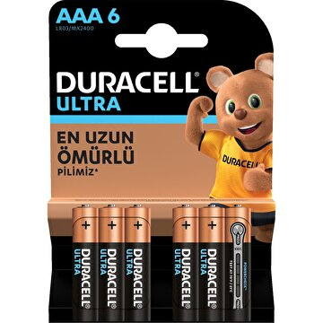 Picture of  Duracell Ultra İnce Kalem Pil 6'lı AAA