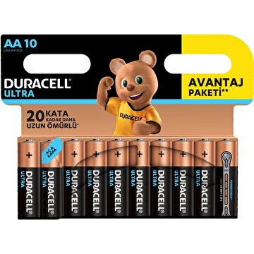 Picture of  Duracell Ultra Kalem Pil 10'lu AA