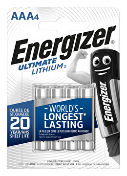Picture of  Energizer Ultimate Lithium AAA 4 lü Pil