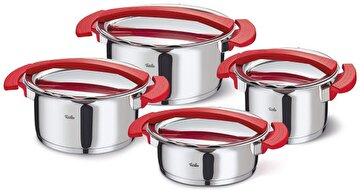 Picture of  Fissler Magic Red Çelik Tencere Seti 8 Parça
