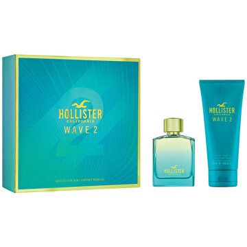 Picture of Hollister Wave 2 For Him EDT 100 ml Erkek Parfüm Seti
