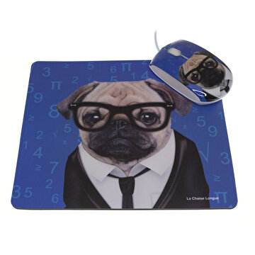 Picture of La Chaise Longue Lcl30C2148 Köpek Mouse Pad & Mouse