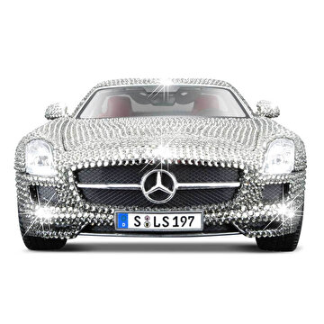 Picture of  Maisto 1/18 Mercedes-Benz SLS AMG Swarovski Taşlı Model Araba