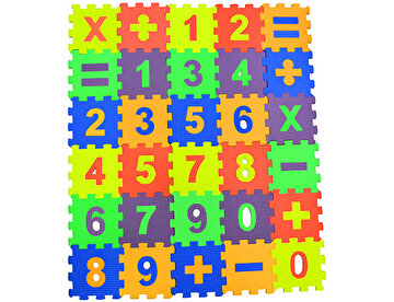 Picture of Matrax Eva Puzzle|12x12cm.X 7 Mm.| Matematik Seti