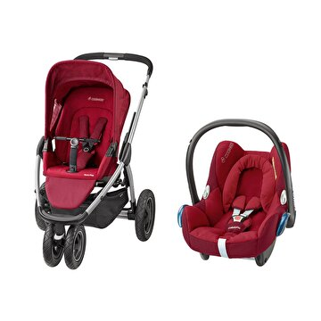 Picture of Maxi-Cosi Mura Plus 3 Travel Sistem Bebek Arabasi / Robin Red