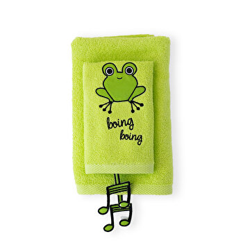 Picture of Milk&Moo Cacha Frog Baby Towel Set of 2