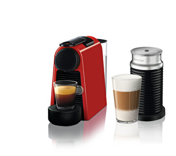 Picture of Nespresso Essenza Mini D35 Red Bundle Kahve Makinesi
