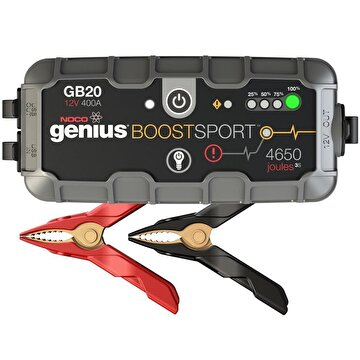 Picture of Noco Genius GB20 12V 400Amp Ultrasafe Lityum Akü Takviye + Powerbank + Led Lamba