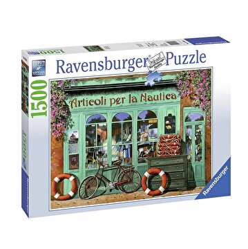 Picture of  Ravensburger Puzzle 1500 Parça Red Bicycle