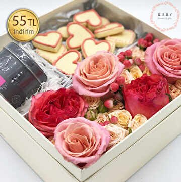 Picture of  Ruby Flowers & Gifts 55TL İndirim Kuponu
