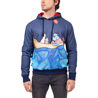 Biggdesign Mr. Allright Man Laci Erkek Sweatshirt