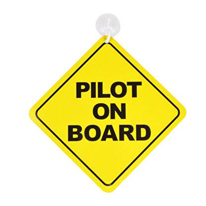 Resim  THK Design Araba Levhası Pilot on Board