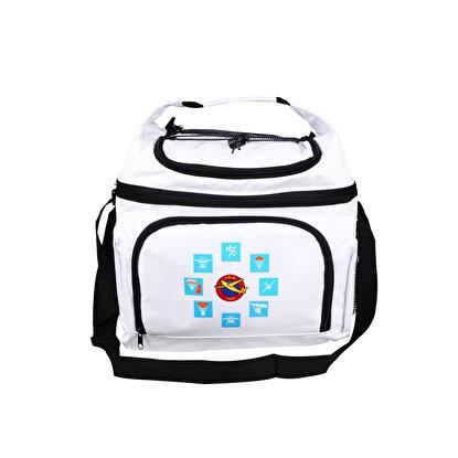 Resim  THK Design Beyaz Soğuk Tutucu Çanta