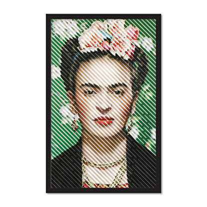 Resim  Artepera APT108MCA Frida Metal Tablo