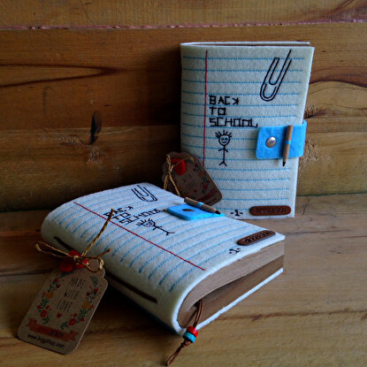 Resim  Biggdesign Back To School Keçe Defter