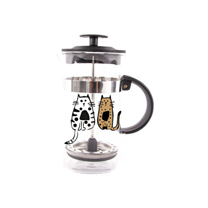 Resim   Biggdesign Cats in İstanbul French Press 350 Ml