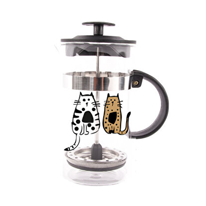 Resim   Biggdesign Cats in İstanbul French Press 800 Ml