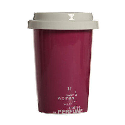 Resim  Biggmug Take Away Pembe Mug