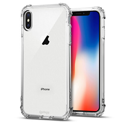 Resim  Buff  Blogy iPhone Xs Max Crystal Fit Kılıf Crystal Clear