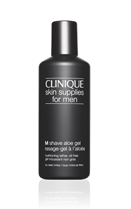 Resim  Clinique Skin Supplies M Shave Aloe Gel 125 ml Tıraş Köpüğü
