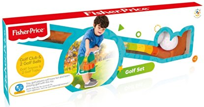 Resim  Fisher Price Golf Seti