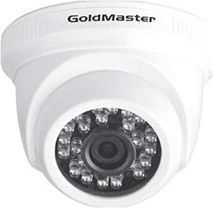 Resim  Goldmaster Ghc-4220Df 2Mp 3.6Mm Ir Dome Ahd Kamera