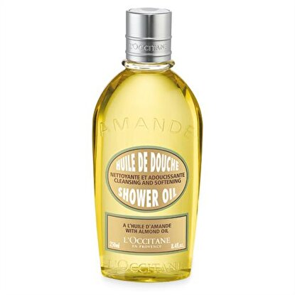 Resim   L'Occitane Almond Shower Oil - Badem Duş Yağı 250 ml