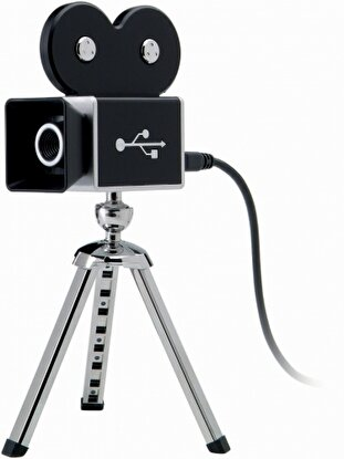 Resim  Marksman 12305500 Movie Camera Webcam Siyah
