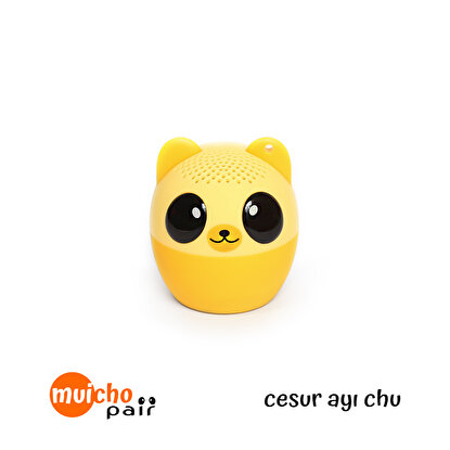 Resim   Muicho Pair Bluetooth Mini Speaker Ayı Chu