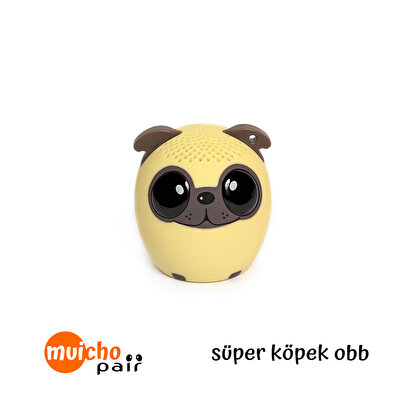 Resim   Muicho Pair Bluetooth Mini Speaker Köpek Obb