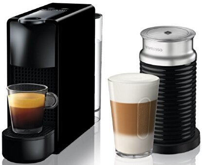 Resim  Nespresso Essenza Mini C35 Black Bundle Kahve Makinesi