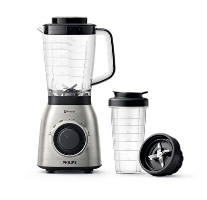 Resim   Philips HR3553/00 Viva Collection Sürahi Blender-On The Go Aparatlı