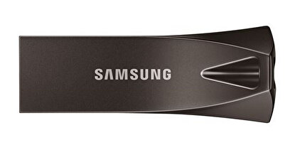 Resim  Samsung Bar Plus 64 GB USB 3.1 Flash Bellek Titan Gri