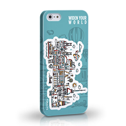 Resim  TK Collection Turkey iPhone 5/5S Kapak