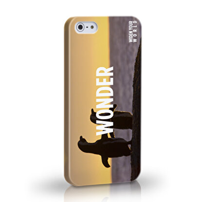 Resim  TK Collection Wonder iPhone 5/5S Kapak