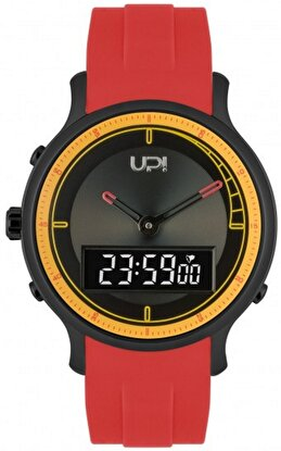 Resim   Upwatch Double Yellow & Red Unisex Kol Saati