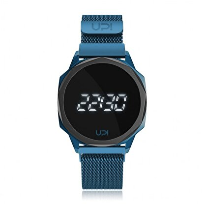 Resim   Upwatch Icon Blue&Black Loop Band Unisex Kol Saati