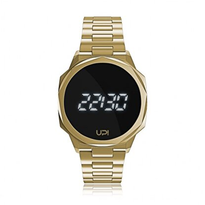 Resim   Upwatch Icon Gold Unisex Kol Saati