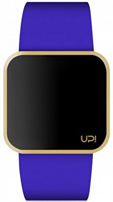Resim   Upwatch Touch Matte Gold & Blue Unisex Kol Saati