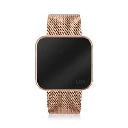 Resim   Upwatch Touch Slim Steel Rose Gold Unisex Kol Saati