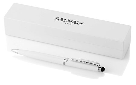 Picture of Balmain Maud Stylus Ballpoint Pen Black