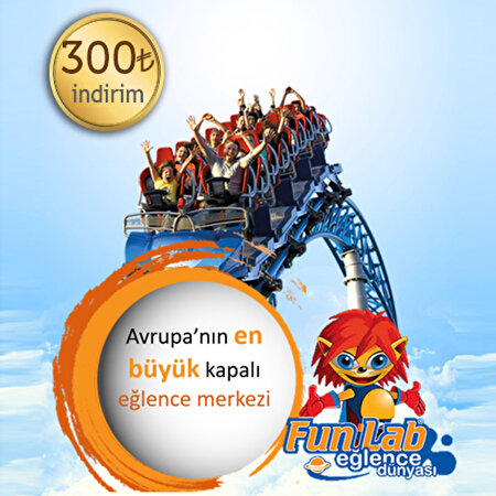 Picture of FunLab Entertainment World 300 TL Discount Coupon
