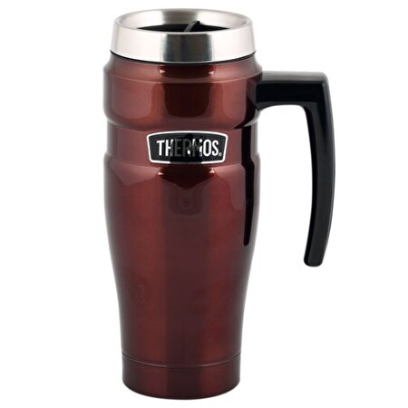 Picture of Thermos Sk 1000 Stainless King Handle Travel Mug Copper 0,47 Lt