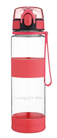 Picture of Vagonlife VGN1747 580 ML Red Waterbottle