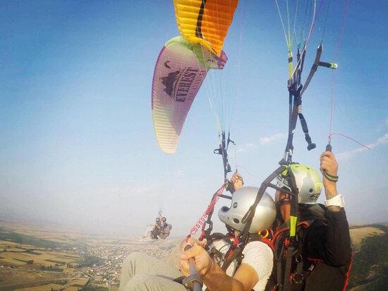 Picture of   THK Tandem Yamaç Paraşüt Uçuşu