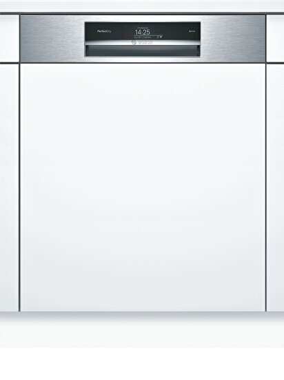 Picture of  Bosch Serie|8 SMI67MS00T Yarı-Ankastre Bulaşık Makinesi 8 Program Home Connect Inox
